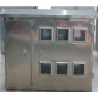网联电气供应不锈钢配电箱300*400*170布线箱防雨电控基业电表室外箱