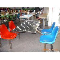 优质特价来宝LB--CZ--006简约现代不锈钢连体餐桌学生员工餐桌图片参数