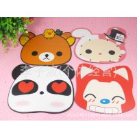 厂家直销韩国高档磨砂鼠标垫 淘宝热卖 小礼品 卡通鼠标垫