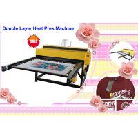 供应 D2 双工位气动烫画机60*80CM 服装烫印机 T恤数码热转印机