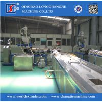 青岛隆昌捷PVC异型材木塑型材挤出设备