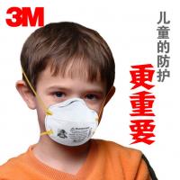 供应3M8110S口罩 3M儿童防雾霾 防尘PM2.5 N95儿童学生女士用头带式口罩