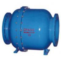 HQ44X-10/16C 铸钢 DN700 HQ44X-16微阻球型止回阀>HQ44X-10球型止回