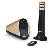 Aver圆展CC30视频会议广角镜头USB接口加无线麦克风组合套件