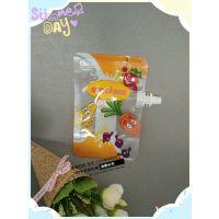 东莞高埗吸嘴袋厂家 自立拉链饮料吸嘴袋 食品级PE复合袋子