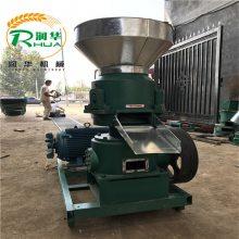 中小型饲料膨化机 润华生产型号齐全饲料造粒小颗粒设备