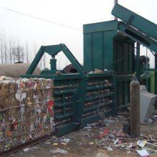 一小时20吨的废纸打包机得多少钱一台?小型废纸箱/废报纸打包机器那里质量好