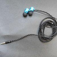 动圈HIFI耳机 合金耳壳 无氧铜线耳机 厂家出货