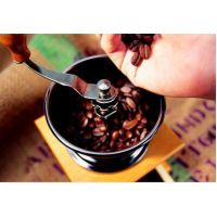 咖啡手摇磨豆机 实木磨豆机 手动研磨磨粉机