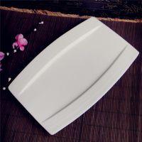 陶瓷碗盘 厂家直销 库存酒店餐厅饭店餐具用品批发 12寸甜品盘