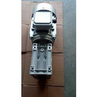 箱式产品输送机特别用到万鑫涡轮减速机RV075/30-1.5KW