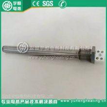 耐腐蚀直型钛加热管及钛蒸汽管 带陶瓷接线端子纯钛单端加热管