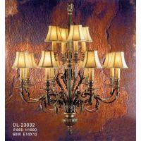 供应,欧式别墅全铜吊灯,高档时尚水晶灯,精致美式吊灯。