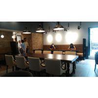 上海工厂订做餐厅复古桌子 上海韩尔工厂直销