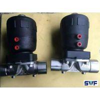 气动卫生级隔膜阀,三维阀门,气动不锈钢焊接隔膜阀