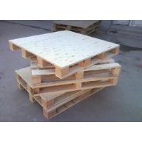 商丘木托盘 二面进叉实木栈板 乾圆包装木工厂生产