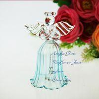 雅雅玻璃 天使之城 祈福 天使风铃 礼品汽车挂件A11021车铃