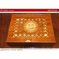【10年厂家】滋补品包装木盒 养生保健品礼品包装木盒 镂空木盒子