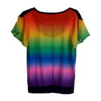 T恤印花打样精度高效果逼真厂家承接定做服装布料数码印花加工