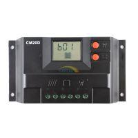 热销智能型液晶显示屏光伏发电系统太阳能控制器CM20D-20A 24V