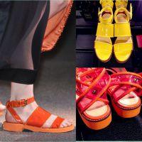 韩国明星同款舒适平底甜美露趾真皮简约凉鞋女小清新学生鞋孕妇鞋