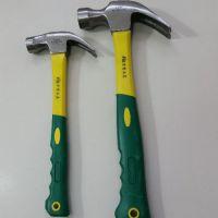 正品力世羊角木工锤子铁锤手锤榔头钉锤铁锤子家用纤维柄起钉锤