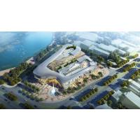 前海周大福全球商品购物中心建筑方案施工图设计