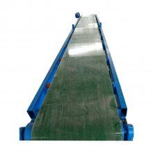 兴亚大规模皮带机生产 漠河平板式输送机 操作安全可靠