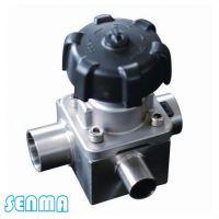 SENMA卫生级T型隔膜阀