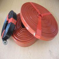 正品厂家联冶科技直销 耐高温防火绝缘套管 防火耐热护套玻纤硅胶管