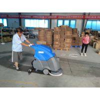 烟台纸箱包装工厂用艾隆AL50B手推式洗地机
