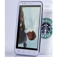 J高端四核四线 6寸大屏3G智能平板手机6.0寸双卡双待四核 安卓4.2