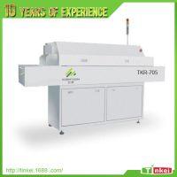供应全自动smt热风回流焊 小型TKR-705S五温区回流焊接机深圳现货