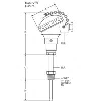 供应原装进口斯派莎克温度感应器EL2270和EL2271