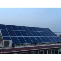 5kw农村屋顶太阳能发电家庭屋顶电站厂房房顶太阳能发电光伏电站,政府补贴,多余电量可卖给国家