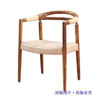 扬韬特价欧式餐厅椅,别墅家具美甲美容电脑椅子,实木软包酒店餐椅批发