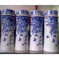 瓷盖陶瓷双层保温杯批发供应厂家生产加工旅行陶瓷保温杯定做定制水杯制作打样