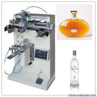 玻璃瓶丝印机东莞市优彩3040R圆面玻璃瓶丝网印刷机