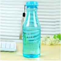 迷你创意水杯 外贸出口杯子logo广告水壶水杯 儿童小杯子塑料瓶子