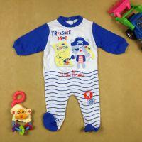 新生儿婴儿礼盒品牌 宝宝连体衣长袖包脚春秋 婴幼儿连体服春秋
