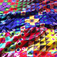 专业布料数码印花厂提供各种化纤全棉真丝家纺面料数码印花加工