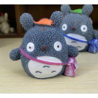 可爱龙猫公仔 动漫周边玩具批发 装饰摆件 树脂工艺品小商品礼品