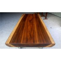 供应花梨木实木原木大板简约现代风格奥坎187-83-10修边