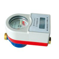 DN15半铜射频卡热水表厂家直销 批发预付费智能刷卡水表IC卡水表