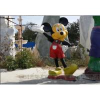 玻璃钢卡通动漫雕塑 米老鼠雕塑摆件 迪士尼乐园雕塑