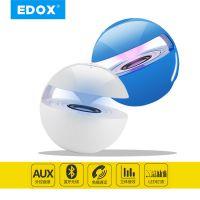 EDOX爆款LED七彩无线蓝牙音箱手机音响创意触摸蓝牙音箱 电脑笔记本通用音响 免提通话
