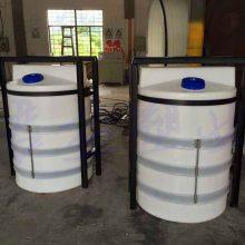 武汉优质液体300L搅拌桶 配0.37KW搅拌机的塑料储罐桶