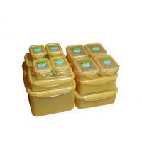 供应韩国百纳宝保鲜盒,纳米银便当饭盒微波盒14件套装