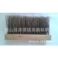 厂家长年为客户定做各种木制钢丝条刷扶梯条刷  欢迎选购