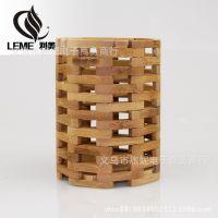 厂家直销 竹木制品 天然竹制筷笼 优质竹筷笼 工艺筷笼 收纳笼